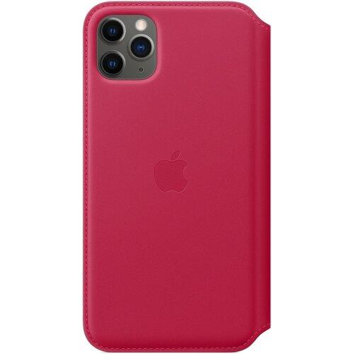 Etui APPLE Leather Case do iPhone 11 Pro Max Malinowy