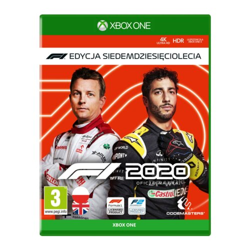 F1 2020 - Edycja Siedemdziesięciolecia Gra XBOX ONE (Kompatybilna z Xbox Series X)