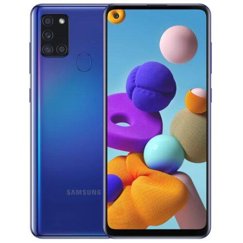 "Smartfon SAMSUNG Galaxy A21s 3/32GB 6.5"" Niebieski SM-A217"
