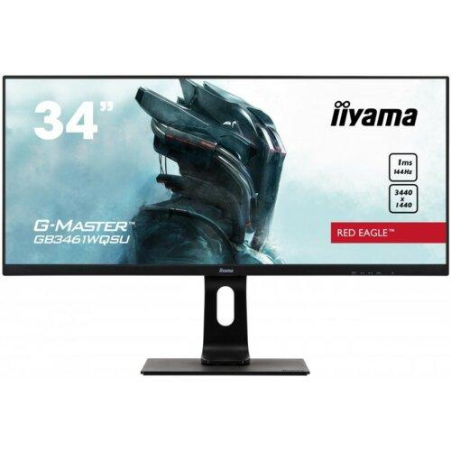 """Monitor IIYAMA G-Master GB3461WQSU 34"""" 3440x1440px IPS 144Hz 1 ms"""