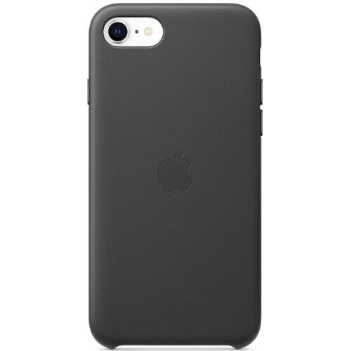Etui APPLE Leather Case do iPhone 7/8/SE 2020 Czarny