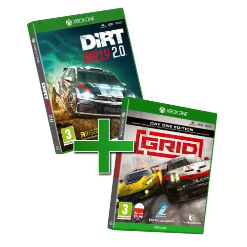 Racing Pack: Grid + Dirt Rally 2.0 Gra Xbox One (Kompatybilna z Xbox Series X)