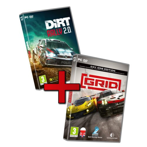 Racing Pack: Grid + Dirt Rally 2.0 Gra PC
