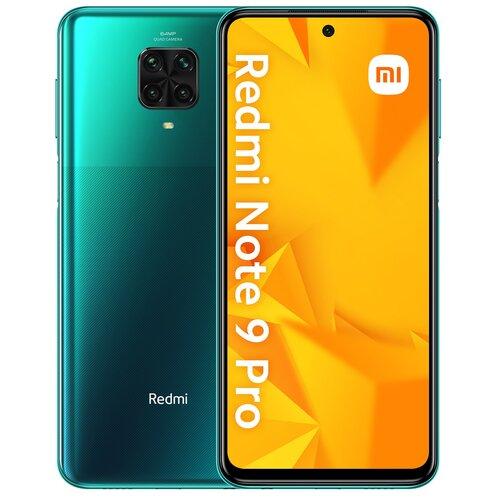 """Smartfon XIAOMI Redmi Note 9 Pro 6/64GB 6.67"""" Zielony 27967"""