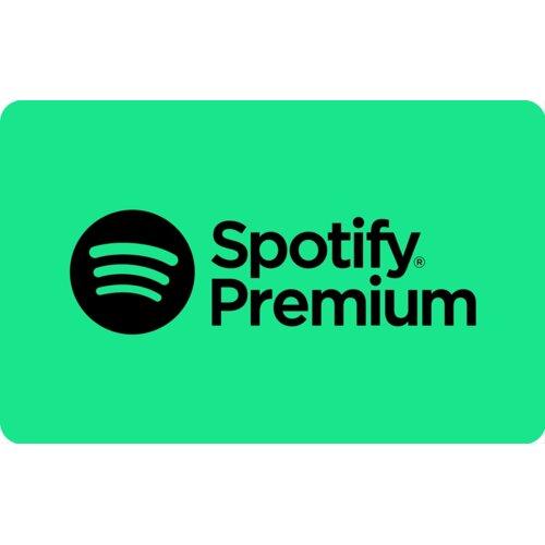 Karta podarunkowa Spotify Premium 120 zł