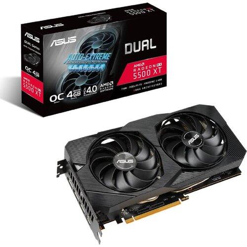 Karta graficzna ASUS Dual Radeon RX 5500 XT OC Evo 4GB