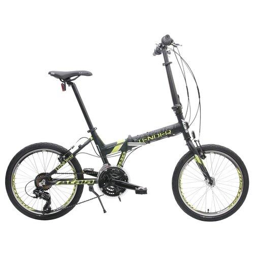 Rower miejski ATALA Tender 21B 20 cali męski Czarno-żółty