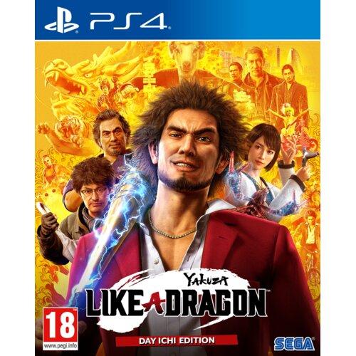 Yakuza: Like A Dragon Day Ichi Steelbook Edition Gra PS4 (Kompatybilna z PS5)