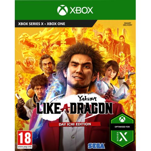 Yakuza: Like A Dragon Day Ichi Steelbook Edition Gra XBOX ONE (Kompatybilna z Xbox Series X)
