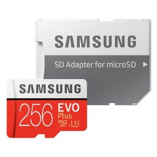 Karta pamięci SAMSUNG microSDXC Evo Plus 256GB