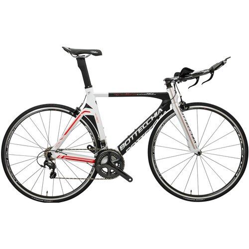 Rower szosowy BOTTECCHIA Crono M21 28 cali męski Biało-czarny