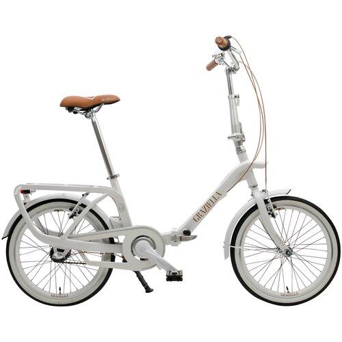 Rower miejski GRAZIELLA Brigitte 3B 20 cali męski Biały