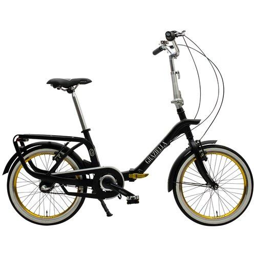 Rower miejski GRAZIELLA Passione 3B 20 cali Czarny mat