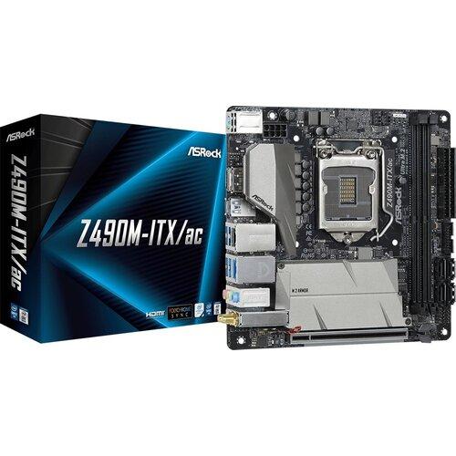 Płyta główna ASROCK Z490M-ITX/ac