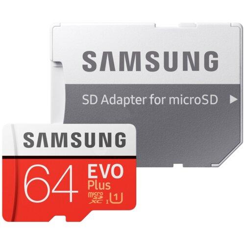 Karta pamięci SAMSUNG microSDXC Evo Plus 64GB