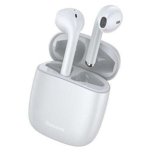Słuchawki douszne BASEUS W04 Pro Biały