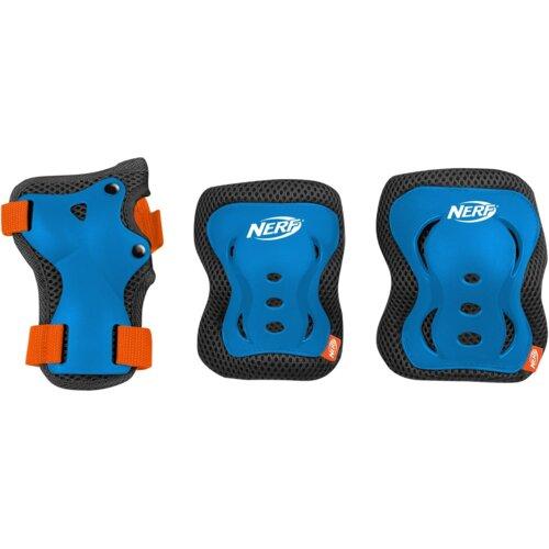 Ochraniacze SPOKEY Hasbro Nerf Armor Niebieski dla Dzieci (rozmiar L)
