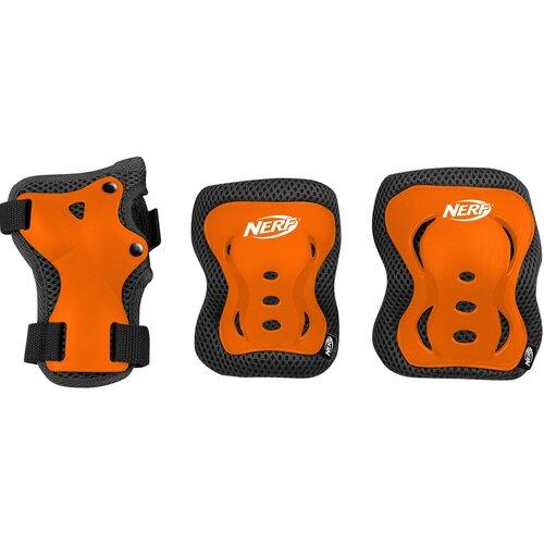 Ochraniacze SPOKEY Hasbro Nerf Armor Pomarańczowy dla Dzieci (rozmiar M)