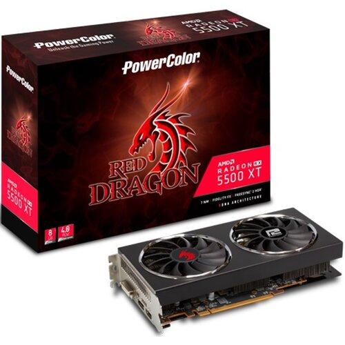 Karta graficzna POWERCOLOR Radeon RX 5500 XT 8GB