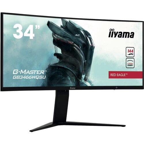 "Monitor IIYAMA G-Master GB3466WQSU 34"" 3440x1440px 144Hz 1 ms Curved"
