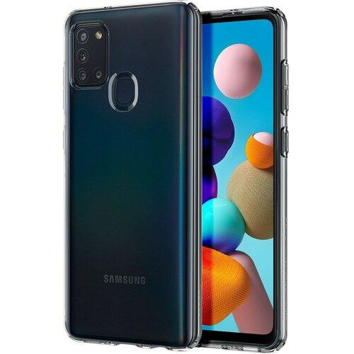 Etui SPIGEN Liquid Crystal do Samsung Galaxy A21s Przezroczysty