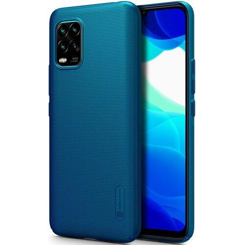 Etui NILLKIN Frosted Shield do Xiaomi Mi 10 Lite Niebieski