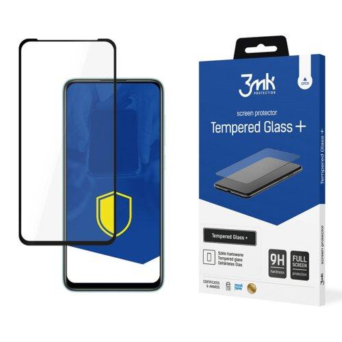 Szkło hartowane 3MK Tempered Glass + do Xiaomi Redmi Note 9 Czarny