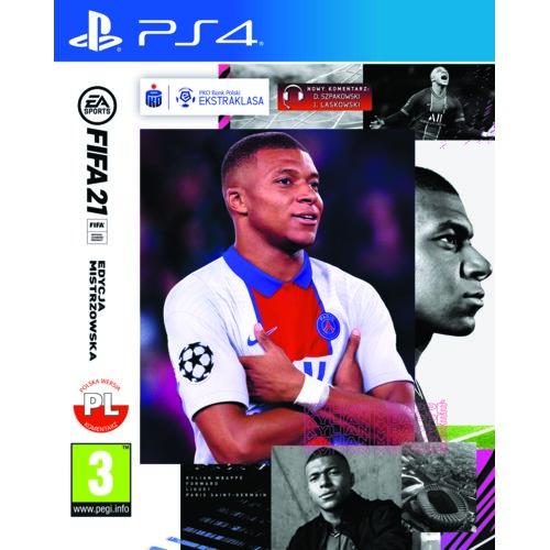 FIFA 21 - Edycja Mistrzowska Gra PS4 (Kompatybilna z PS5)