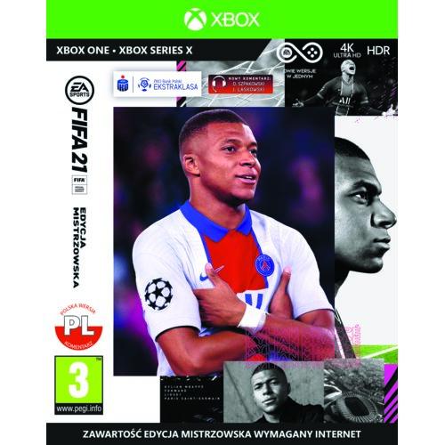 FIFA 21 - Edycja Mistrzowska Gra XBOX ONE (Kompatybilna z Xbox Series X)