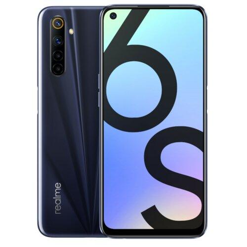 """Smartfon REALME 6S 4/64GB 6.5"""" 90Hz Czarny RMX2002"""