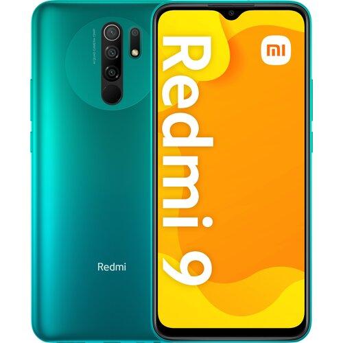 """Smartfon XIAOMI Redmi 9 4/64GB 6.53"""" Zielony 28425"""