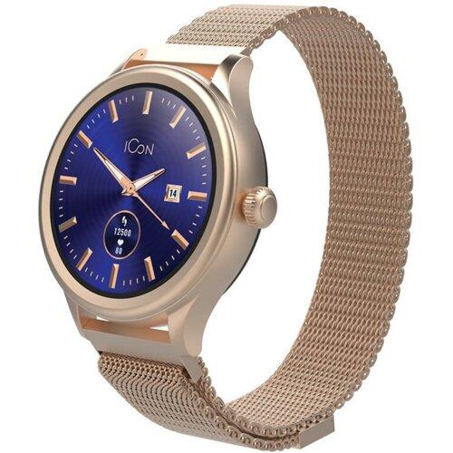 Smartwatch FOREVER Icon AW-100 Różowo-złoty