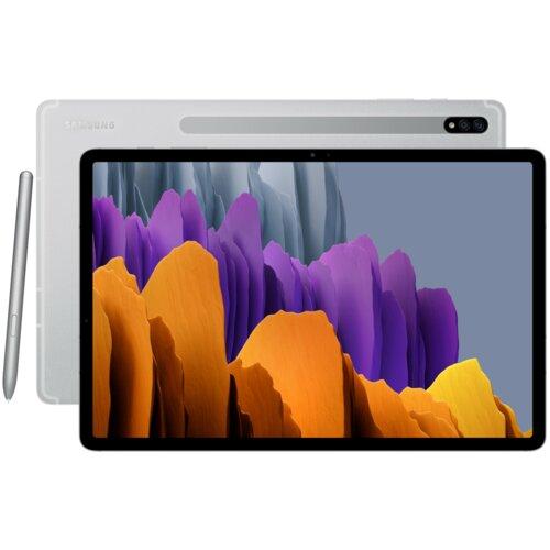 "Tablet SAMSUNG Galaxy Tab S7+ 12.4"" 6/128 GB Wi-Fi Srebrny"