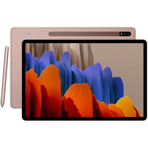 """Tablet SAMSUNG Galaxy Tab S7+ 12.4"""" 6/128 GB 5G Wi-Fi Brązowy"""