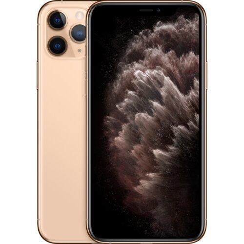 """Smartfon APPLE iPhone 11 Pro 64GB 5.8"""" Złoty MWC52PM A + Zabezpieczenie ekranu"""