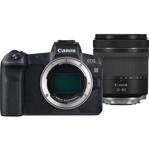 Aparat CANON EOS R + Obiektyw RF 24-105 mm f/4-7.1 IS STM non L