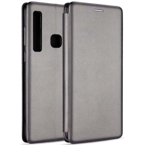 Etui BOOK MAGNETIC do Huawei P40 Lite E Stalowy