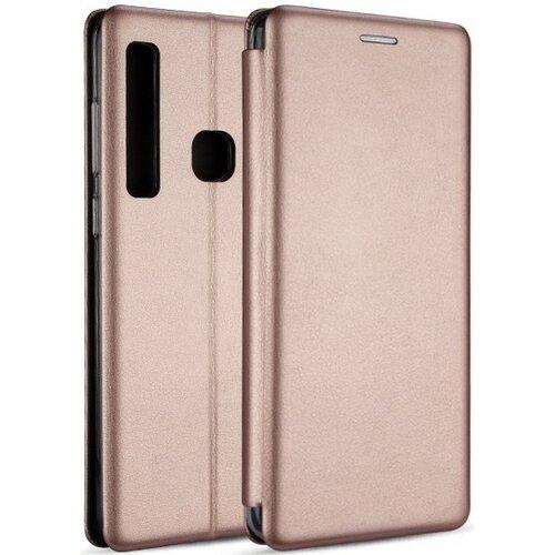 Etui BOOK MAGNETIC do Huawei P40 Lite E Różowo-złoty
