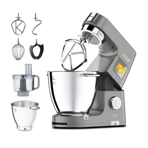 Robot wielofunkcyjny KENWOOD Titanium Chef Patissier XL KWL90.244SI 1400W z wbudowaną wagą i funkcją gotowania (2 misy w zestawie)