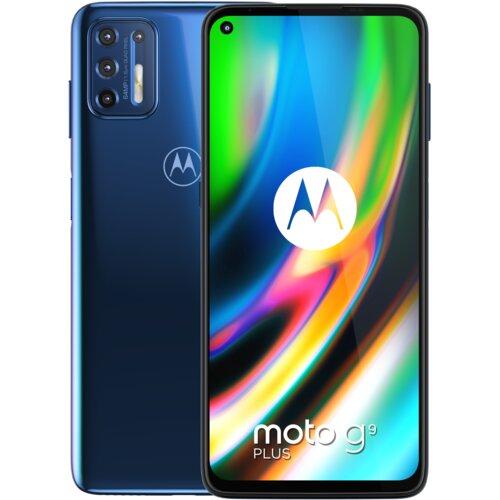 "Smartfon MOTOROLA G9 Plus 4/128GB 6.81"" Niebieski PAKM0003PL"