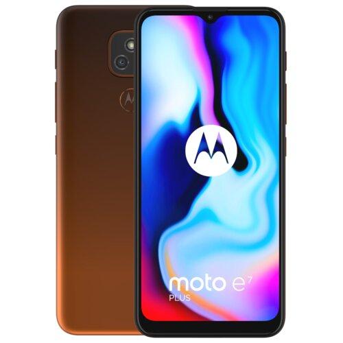 "Smartfon MOTOROLA Moto E7 Plus 4/64GB 6.5"" Pomarańczowy PAKX0009PL"