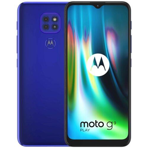 "Smartfon MOTOROLA G9 Play 4/64GB 6.5"" Niebieski PAKK0019PL"