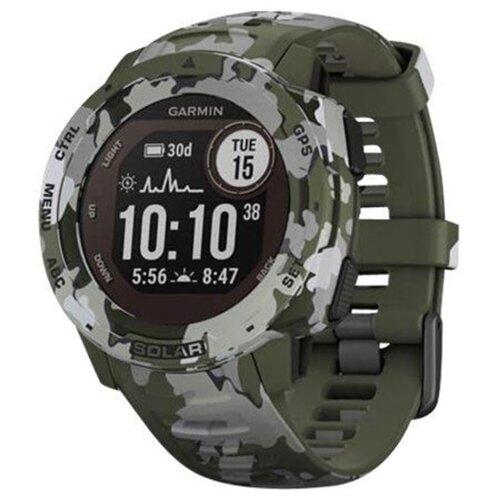 Zegarek sportowy GARMIN Instinct Solar Camo Edition Zielony