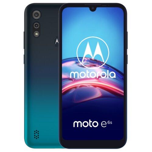 "Smartfon MOTOROLA E6S 2/32GB 6.1"" Niebieski PAJE0009PL"