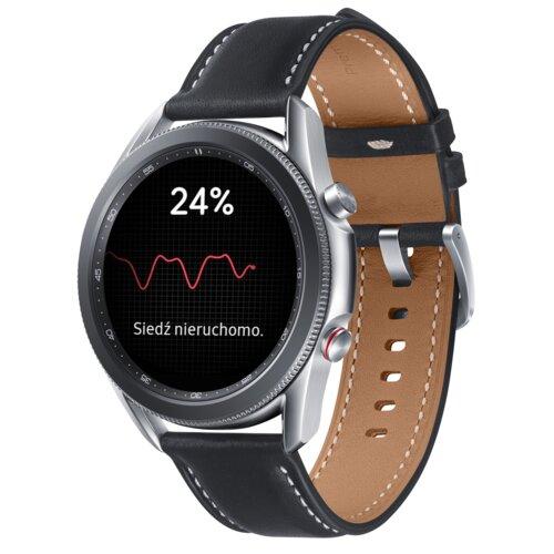 Smartwatch SAMSUNG Galaxy Watch 3 SM-R845FZ 45mm LTE Srebrny