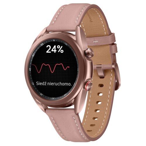 Smartwatch SAMSUNG Galaxy Watch 3 SM-R855F 41mm LTE Miedziany