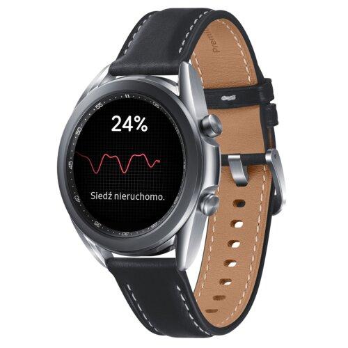 Smartwatch SAMSUNG Galaxy Watch 3 SM-R850N 41mm Srebrny