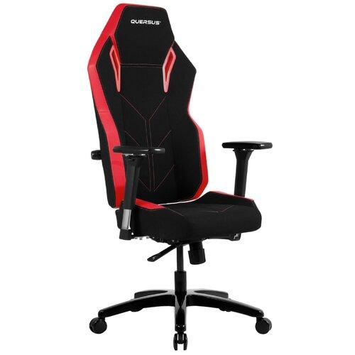 Fotel QUERSUS Vaos 501 Czarno-czerwony