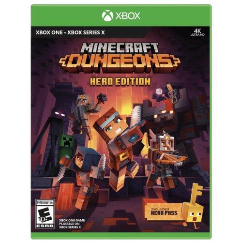 Minecraft Dungeons - Hero Edition Gra XBOX SERIES X