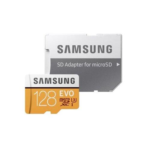 Karta pamięci SAMSUNG Evo 128GB MicroSD MB-MP128HA EU UHS-I + Adapter